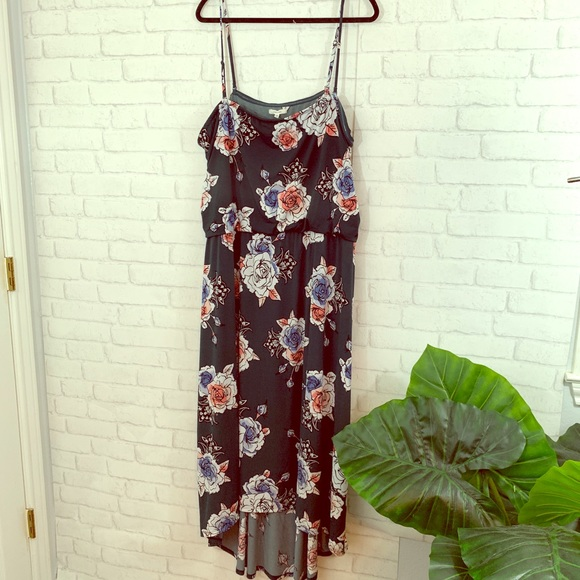 Maurices Dresses & Skirts - Floral high low maurices dress size 3X!